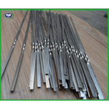 Stainless Steel Flate Barbecue Skewers