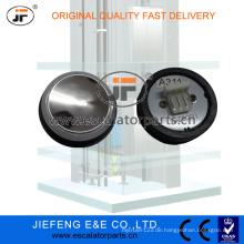JFOtis 4 Pin Red Mirror Elevator Button Druckknopf (China Made)