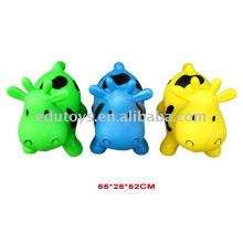 jumping cow Inflatable happy cow toys for kids