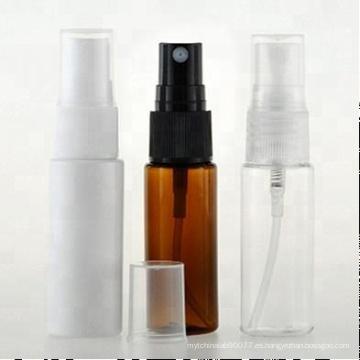 botella cosmética plástica ambarina vacía del color 50ml