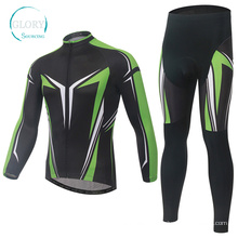 100% Polyester Man′s Knit Cycling Jersey