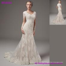 Vintage Modest Brautkleider mit langen Ärmeln Spitze Chiffon Brautkleider 2017 Country Wedding Dress