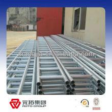 Q345 acero escalera viga almacén estructural