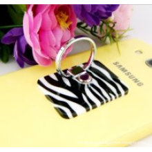 PU anti slip pad finger ring holder for mobile phone