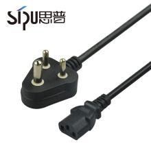 СИПУ оптовая высокого качества Индия ПК огнепроводных шнуров с литой сетевой вилкой кабель питания
