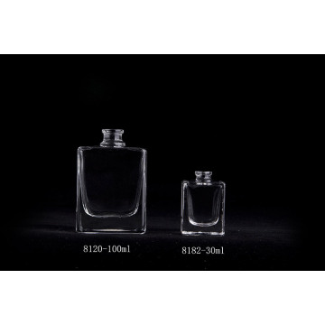 30ml Clear Square Glass Parfum Botol Dengan Semprot