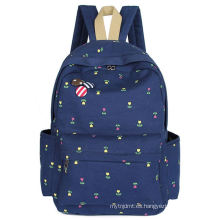 Good quality export lasted school canvas backpacks