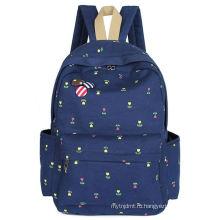 Хорошее качество экспорта длился школьный холст рюкзаки