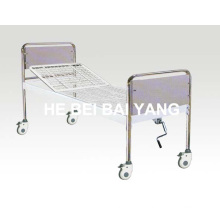 a-118 Movable Single Function Manual Hospital Bed
