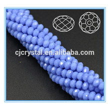 Crystal glass bead rondelle beads crystal 4mm
