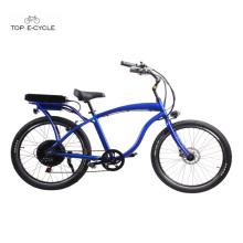 Adult chopper cheap motorized beach cruiser bicycles/ ebike/ bike