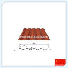 Chine Plaque préfabriquée de haute qualité préfabriquée en métal pour le toit