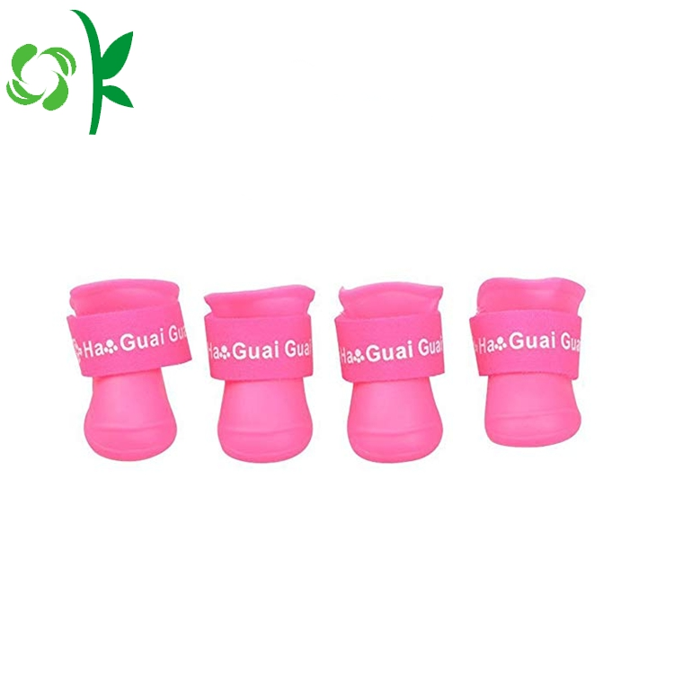 Silicone Pet Shoes 4