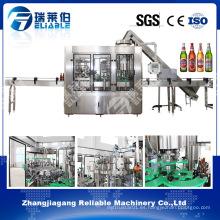 Máquina de embotellado de la bebida alcohólica de la botella de cristal en venta