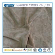 Tejido de franela Coral Fleece Fabric