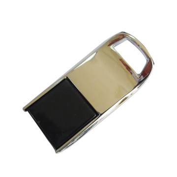 Unidad flash USB Gold Silver Mini Metal Swivel