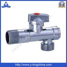 Пластинчатый гальванический регулируемый латунный клапан (YD-5035)
