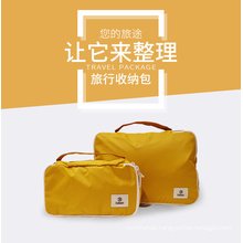Foldable Luggage 2sets Compression Pouches Packing Cubes Travel Bag Organizer