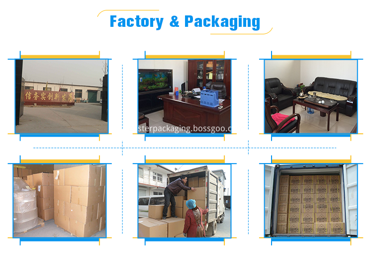 plastic packaging for cosmetic