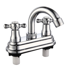 """4"""" ABS Plastic Basin Faucet with Chrome Finish"""