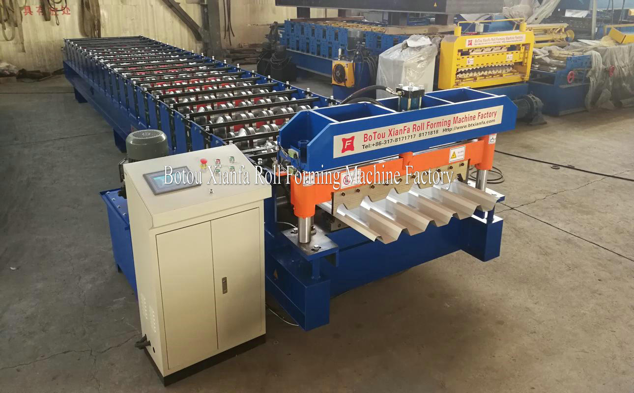 IBR Tile Forming Machinery