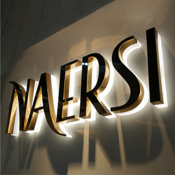 Custom Made LED Metal Letter Signs