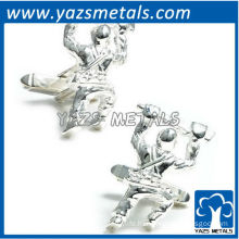 Soldier cufflinks, customize high quality metal crafts
