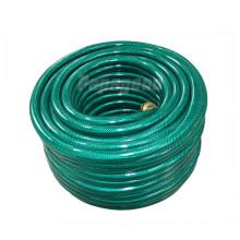 Grüner PVC-Garten-Wasserschlauch
