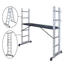 Plate-forme de travail et structure d'échafaudage et échelles pliantes