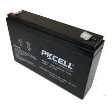 6 v 7ah batería de plomo ácido SLA batería de almacenamiento para el sistema solar