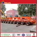 Multi-Linien-Tiefbett-modularer Anhänger für schweren Ausrüstungs-Transport