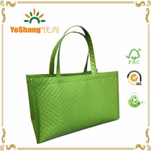 Laminated Non Woven Shopping Grocery Quilted Tote Bag