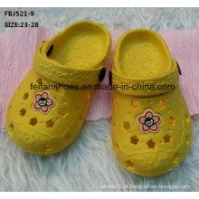 Venda quente EVA Clog Garden Shoes Slipper (FBJ521-9)