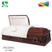 Usine en ligne de la bonne qualité de cercueil JS-A895