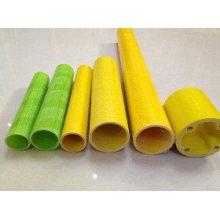 Fiberglass Corrugated Round Tube, FRP/GRP Pultrusion Profile