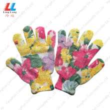 Beautiful Style Bath Washing Gloves