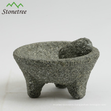 Pitted mortar with pestle large engraved mortar and pestle