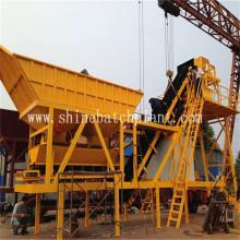 Planta de dosagem de concreto móvel de alta eficiência