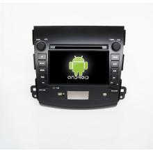 Jogador de DVD GPS do carro 7inch para o Outlander de Mitsubishi com os gps do carro da espelho-relação