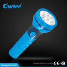 9 LEDs hohe Leistung wiederaufladbare LED Notfackel Licht
