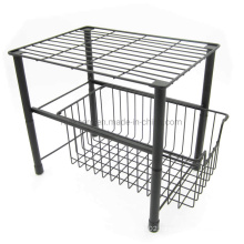 Stackable Storage Rack Under Sink Cabinet Organizer