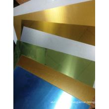 Láminas de aluminio recubiertas de sublimación listas para imprimir