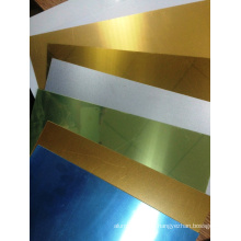 Feuilles en aluminium revêtu de sublimation prêt pour l'impression