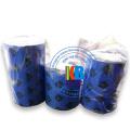 Ruban d'imprimante zèbre bleue de haute qualité 110 * 300