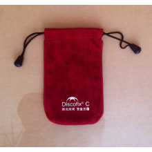Red Small Flannelette Environmental Protection Bag (GZHY-dB-012)