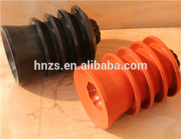 cementing plug with plastic
