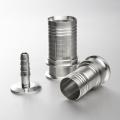 De Buena Calidad AISI 304 316 Conector sanitario Manguera de tubo Racores Acoplamiento de acero inoxidable
