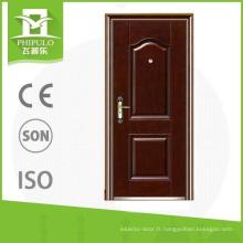 catalogue de conception de porte en acier laminé à chaud de sécurité