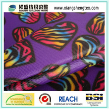 Coated Printed Oxford Polyester Fabric for Bag or Luggage