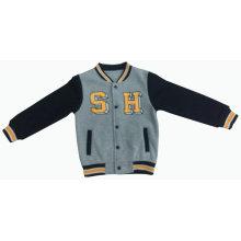 Men / Boy Fashion Baseball Cotton Fleece Sport Jacket Clothes